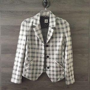 Cabi Valentina Plaid Blazer Jacket